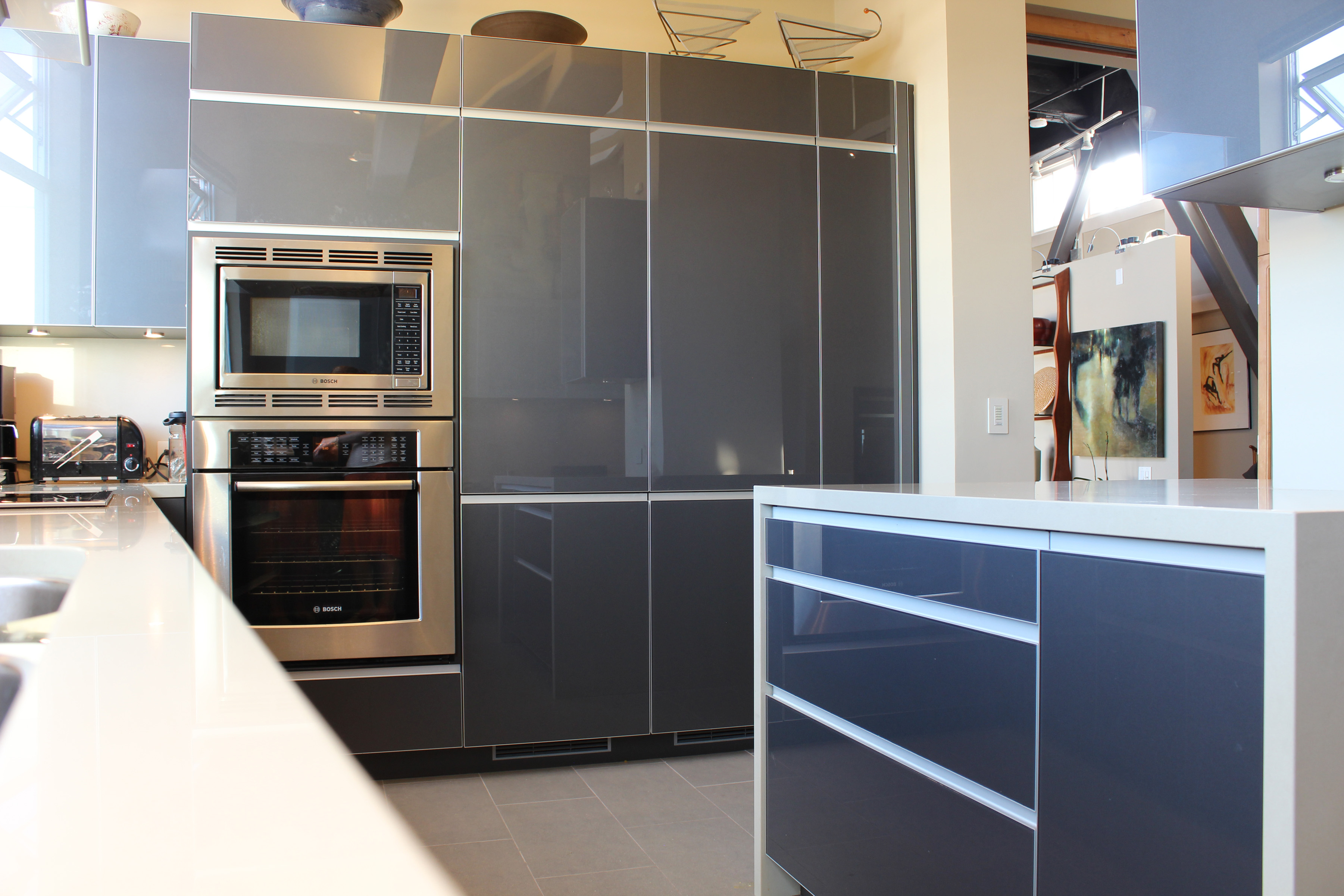 The Clock Tower Project Contemporary Kitchen San