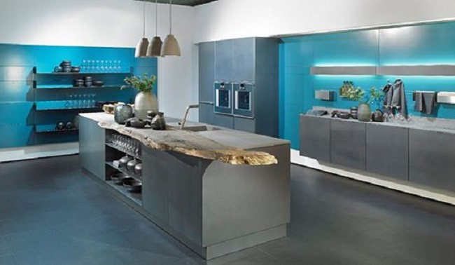 Alno INOX – Stainless steel kitchen fronts