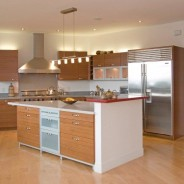 Natural Cherry – Contemporary Style Kitchen