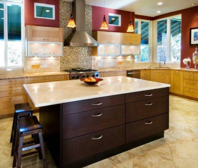 A mix of country style and contemporary  style Kitchen in Morgan Hill