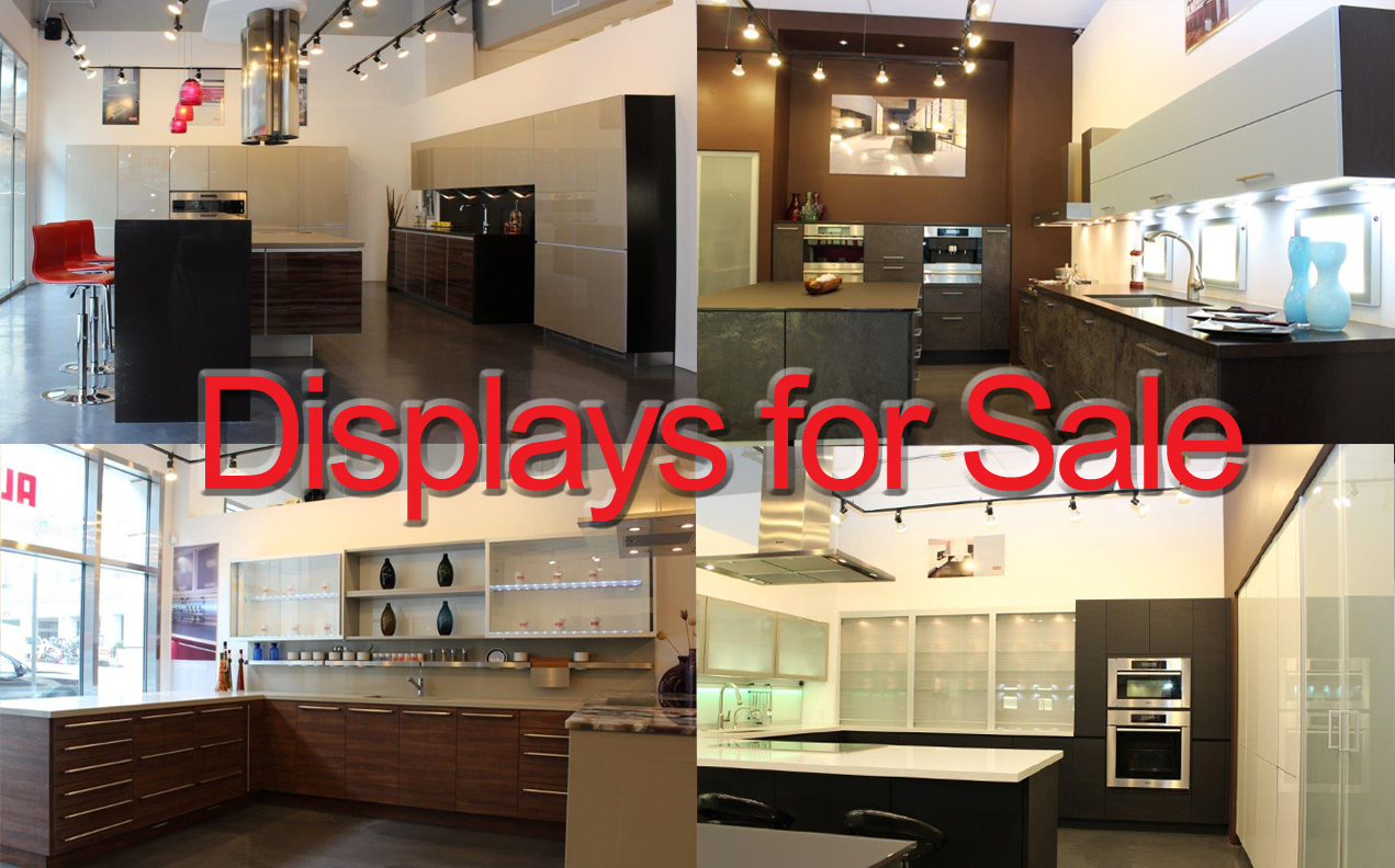 displays for sale - Kitchen Design San Francisco