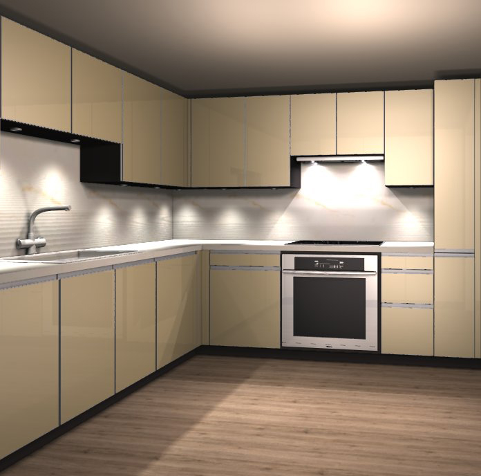 Alno sf kitchens on sale from displays for Alno kitchen cabinets