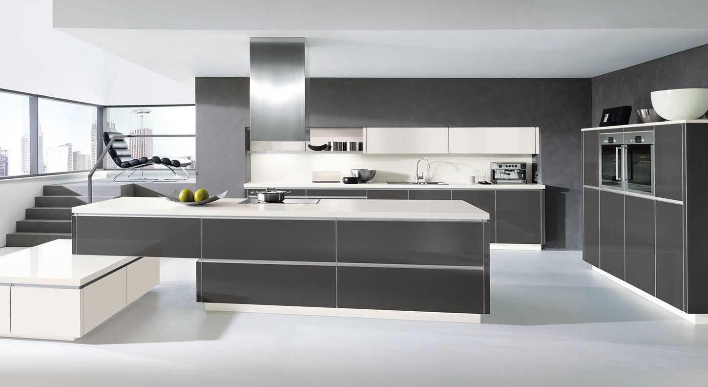 Glass European Kitchen Design