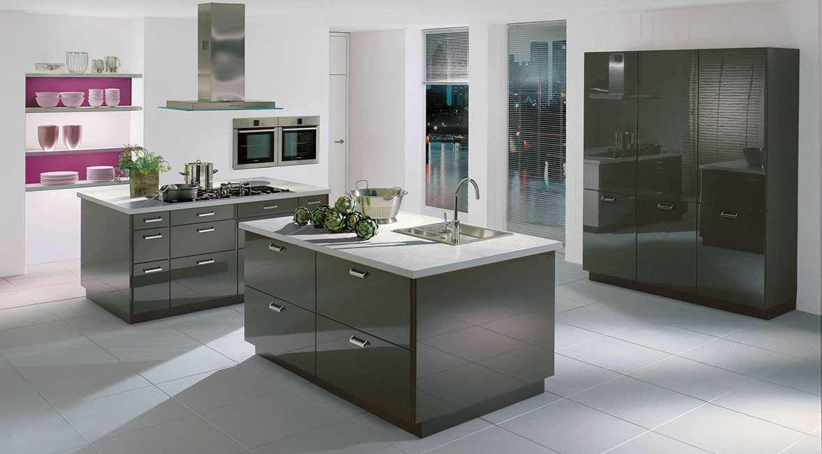 Lacquer European Kitchen Design
